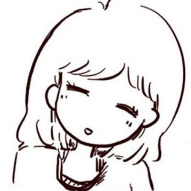 卡通格格手绘简笔画